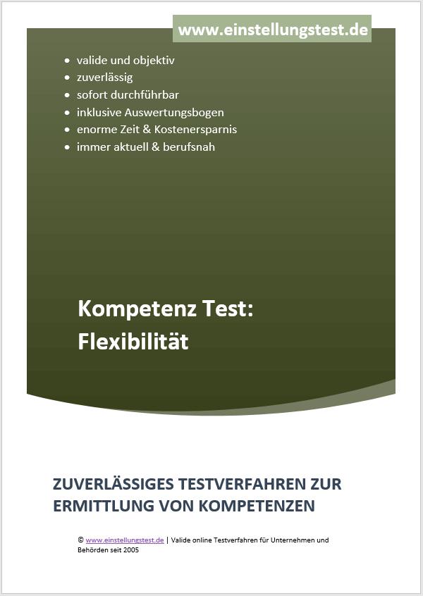 Einstellungstest im Auswahlverfahren: Flexibilität